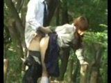 Amateur Asian Schoolgirl Fucked In A Public Park
