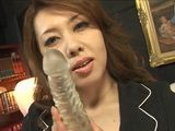 Japanese MILF Shows On Dildo What Would She Do To Your Dick