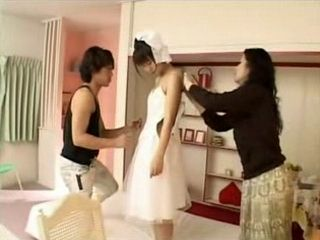 Preparing Teen Bride For Wedding End Up With Fuck