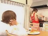 Japanese Husband Fuck His Teen Wife In The Kitchen