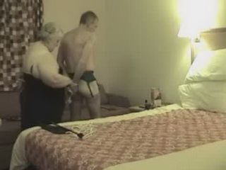 Amateur Granny Bondage Spanked And Fucked Her Old Husband