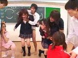 Japanese Classroom Group Sex