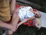 Sweet Pussy Fucked In The Forest