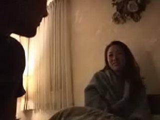 Strange Man Entered Into Japanese Moms Room