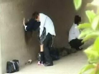 Japanese Teens Sex Under The Bridge