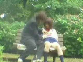 Japanese Teens Hidden Cam Sex From Park