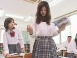 Japanese Schoolgirl Classroom Lesbians