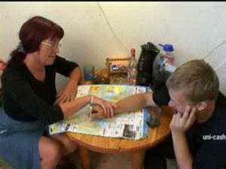 Still very hot mommy attacked teen boy