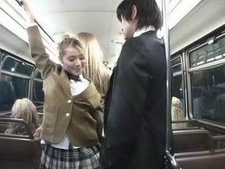 Japanese Man Entered Into Female School Buss