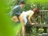 Voyeur Tapes Japanese Students Fucking In The Park