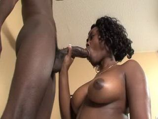 Ebony Woman Sucking Snake Dick And Fuck