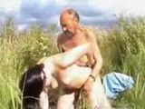 Grandpa Fucked Teen Girl In The Field