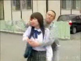 Japanese Man Attacked Teen Girl From Behind On The Street