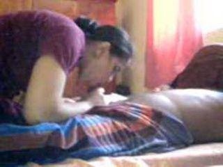 Indian Woman Sucking Husbands Dick