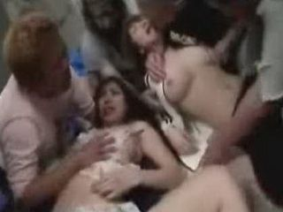 Japanese Girls Molested By Next Door Group Of Guys