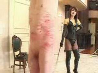 Japanese Sissy Boy Humiliated And Hard Whipped