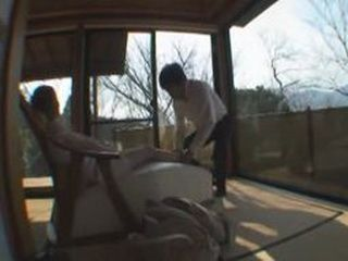 Asian Blowjob In Hot Spring