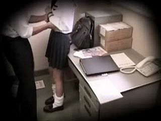 Schoolgirl caught stealing blackmailed 15