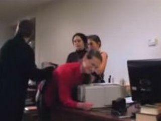 Office Domestic Discipline Spanking