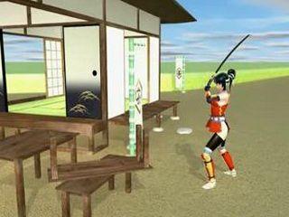 3D hentai shoving samurai in pussy