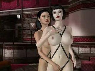 3D busty hentai licking ghettoanime