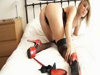 Big tits Demi sexy lingerie