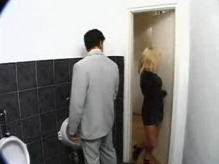Lady You Made Mistake This is a Mans Toilet