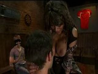 Asian pretty tranny gives oral pleasure on naked guy