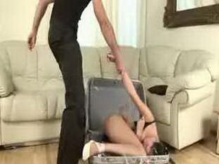 Flexible doll gets abused hard