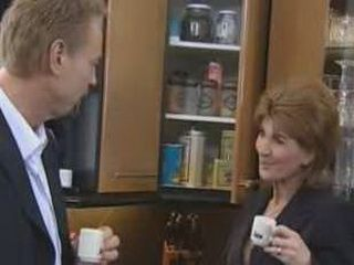 German Milf Used Coffee Break To Refresh Her Private Life