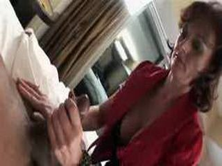 40 yr old Russian Milf in Interracial Video