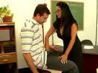 my first sex teacher - mrs sophia lomeli
