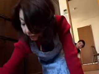 Japanese Wife and Nephew Have Good Sex xLx