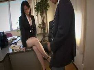 Horny boss makes me do it