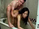 in bath with cute ASIAN teen Myana