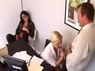 Naughty Office - Eva Angelina & Barbara Summer