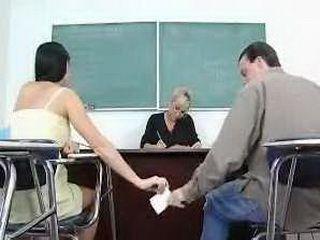 My First Sex Teacher - Mrs. Milan 2 & Haley Paige.avi