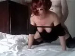 Sexy wife gets doggystyled and ass spanked