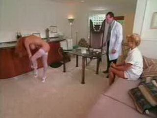 Hot Nurse Provoked Doctor And His Assistant 3x