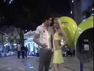 blonde shemale fucking her man