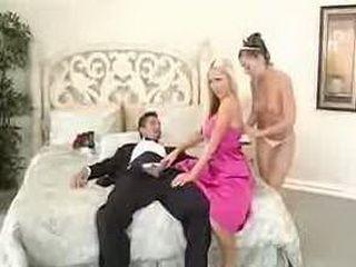 Bestman fucks the bride and her best friend
