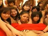 Big POV Japanese harem orgy with handjobs and kissing