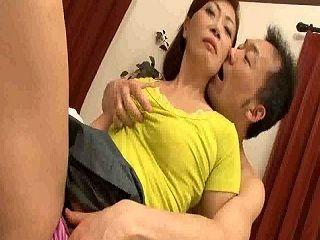 Nasty Japanese Milf Mom Hard Fucked