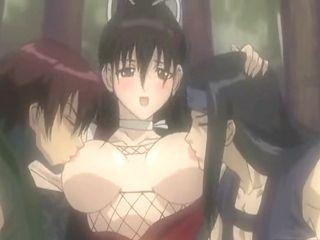 Japanese lesbians hentai groupsex and cumshot