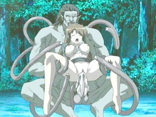 Cute hentai bigtits fucked by monster tentacles and bigcock