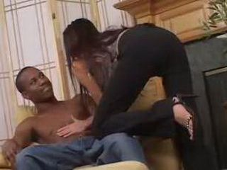 Cute Brunette Asked Black Friend FOr Good Fuck   3x