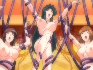 Busty hentai girls groupfucked all hole by tentacles