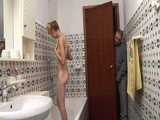 Sons Girl Should Lock Bathroom Door
