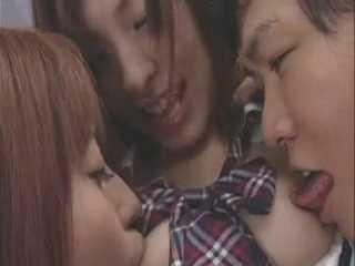 The Japanese Schoolgirl Orgy