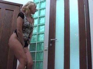 Mom Get Extremely Wet Spying Neighbors Boy